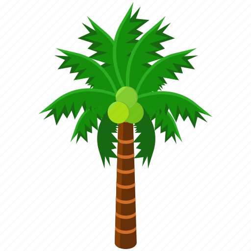eco, ecology, elements, nature, palm, tree icon