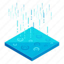 ecology, elements, nature, rain, weather icon