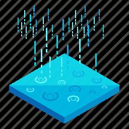 ecology, elements, nature, rain, weather icon