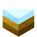 ecology, elements, nature, snow, terrain icon