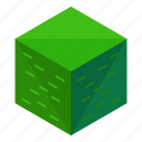 bush, eco, ecology, elements, nature, square icon