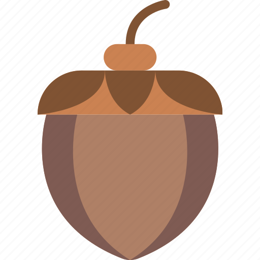 acorn, nature, summer icon