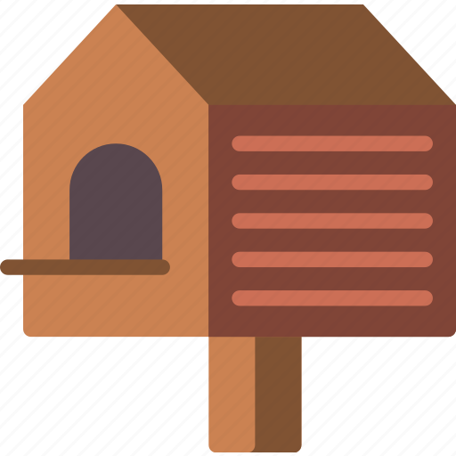 bird, house, nature, summer icon