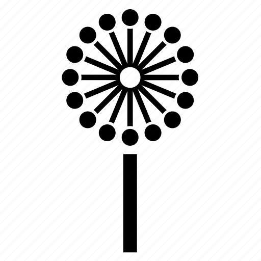 abstract, dandelion, flora, forest, nature, tree icon