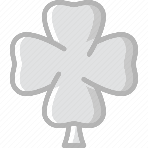 clover, leaf, nature, summer icon