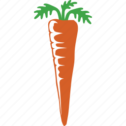 carrot, farming, healthy, organic, taproot, vegetable, vegetarian icon