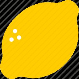 citrus, food, fresh, fruit, lemon, organic, yellow icon