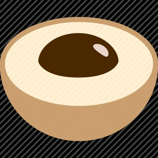 dimocarpus, dragon, eye, food, fruit, longan, seed icon