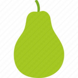food, fresh, fruit, natural, organic, pear icon