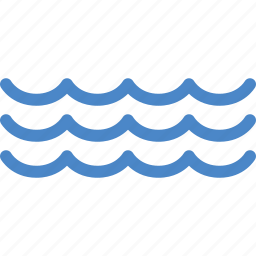 flow, ocean, sea, tide, water, wave, waves icon