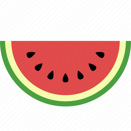 Citrullus, food, fruit, lanatus, seeds, slice, watermelon icon - Download on Iconfinder