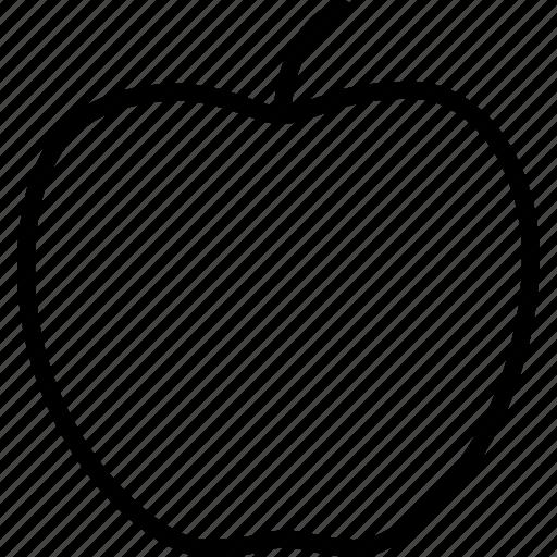 apple, delicious, education, food, fruit, new york, organic icon