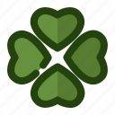 clover, green, leaf, luck, shamrock icon