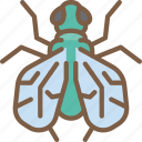 fly, nature, summer icon