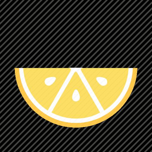 citrus, cook, fresh, garnish, lemon, section, sour icon