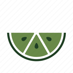 eat, food, fresh, green, lime, restaurant, section icon