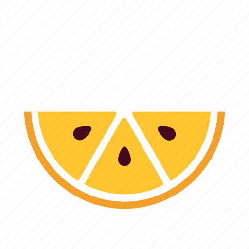 citrus, fruit, juice, kitchen, orange, section, slice icon