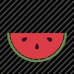 diet, fruit, hot, kids, refreshing, summer, watermelon icon