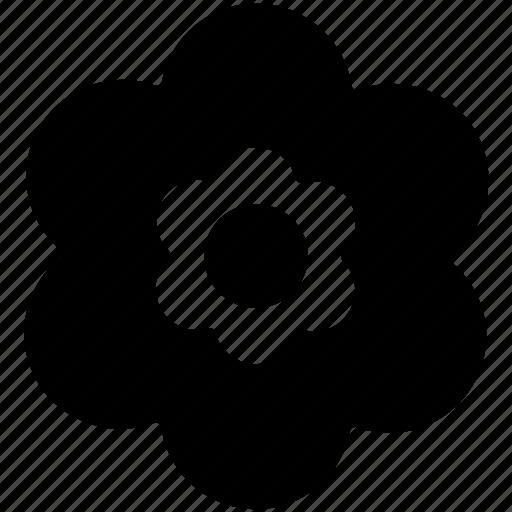 creative flower, decorative, flower, flower shape icon