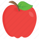 apple, diet, fibre fruit, food, fruit icon