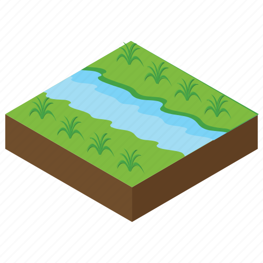 agriculture, field, forest, land, landscape icon