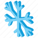 frost, ice flake, snow, snowfall, snowflake icon