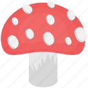 edible, food, fungi, mushroom, toadstool icon