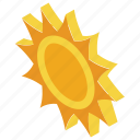 solar power, sun, sun rays, sunlight, sunshine icon