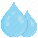 droplets, hydro, mist, rain, water drop icon