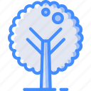 nature, summer, tree icon