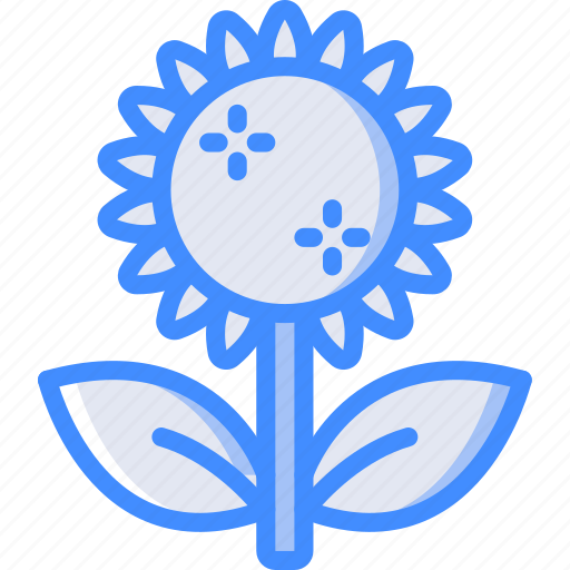 Summer, flower, nature icon