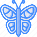 butterfly, nature, summer icon