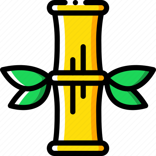 bamboo, nature, summer icon