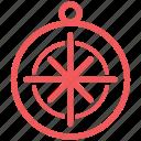 compass, direction, navigate, map, marine, nautical, navigation