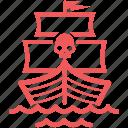 marine, nautical, pirate, ship, vessel, battleship, warship