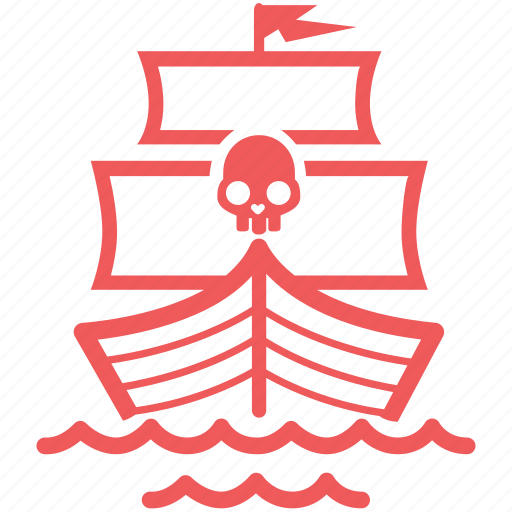 alert, battleship, boat, danger, freedom, marine, nautical, pirate, sail, sailing, sea, ship, vessel, warship icon