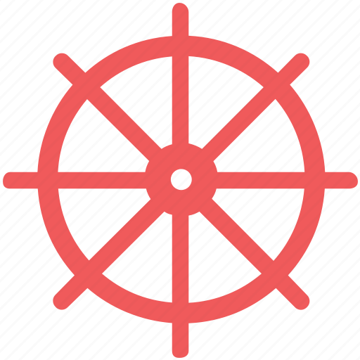 boat, control, helm, marine, nautical, ship, steering icon