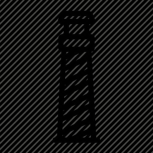 light, lighthouse, nautical, sea, shore icon