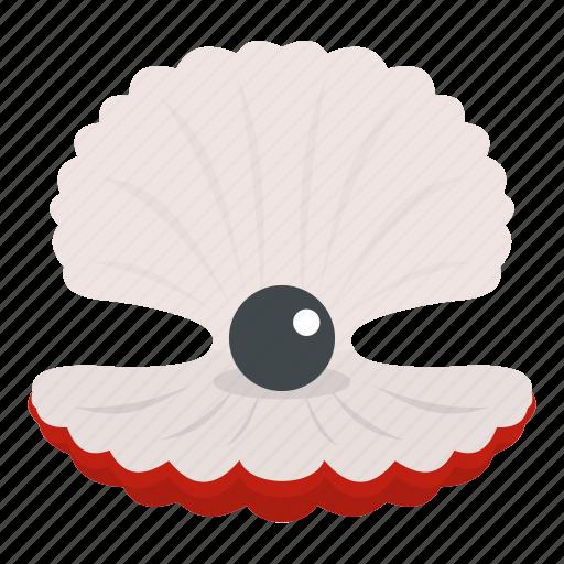 beautiful, nature, ocean, pearl, sea, seashell, shell icon