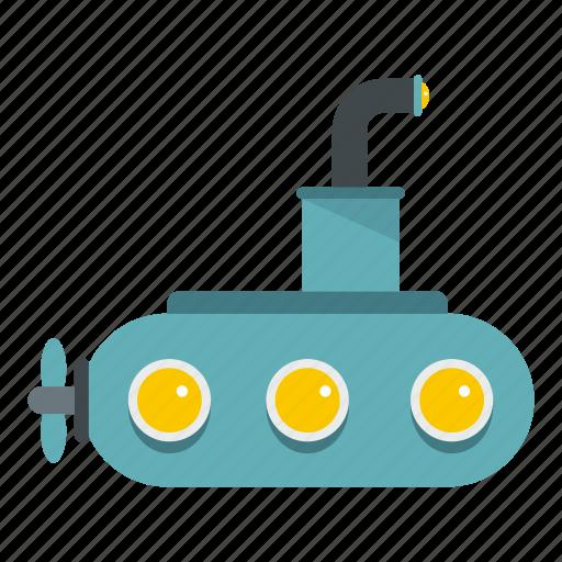 boat, marine, navy, nuclear, sea, submarine, war icon