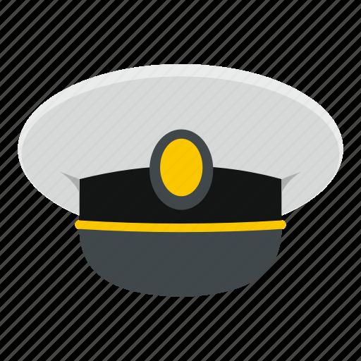 cap, captain, hat, sailor, sea, seaman, travel icon