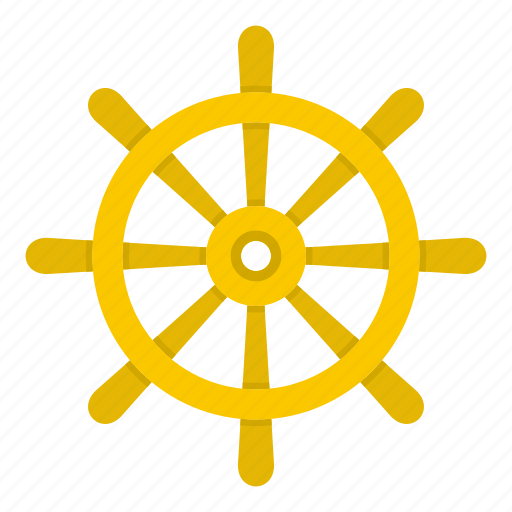 Boat, direction, nautical, rudder, ship, vessel, wheel icon - Download on Iconfinder