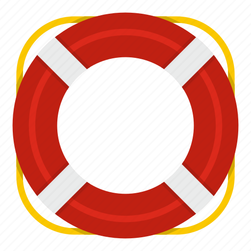 belt, buoy, emergency, help, lifebuoy, protection, swim icon
