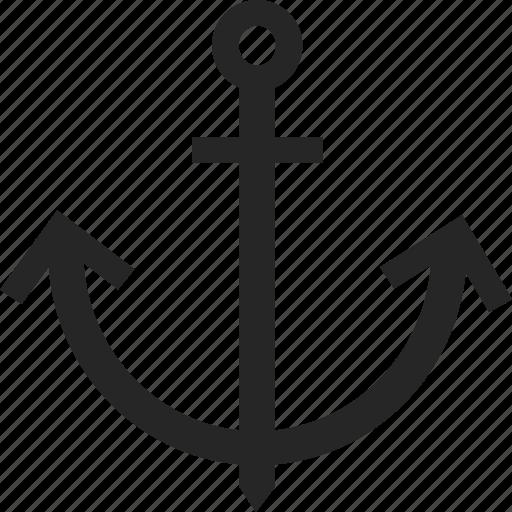 anchor, boat, boating, nautical, sail, sailing icon
