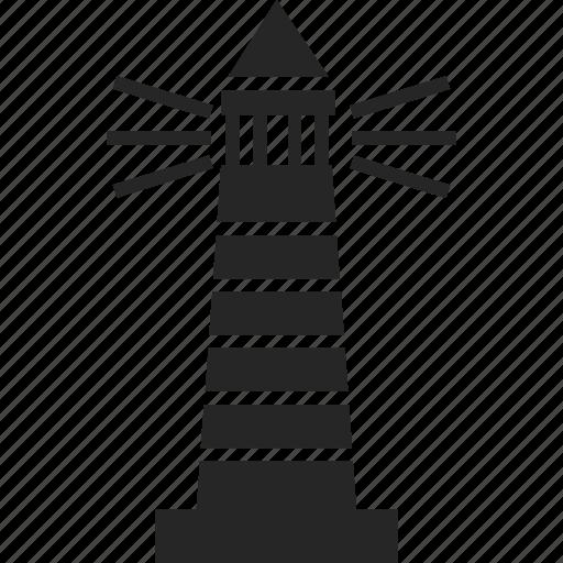 beach, lighthouse, nautical, tower icon
