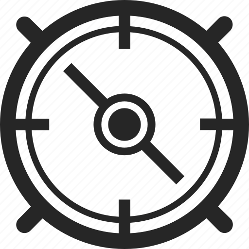 compass, locate, location, navigate, navigation icon
