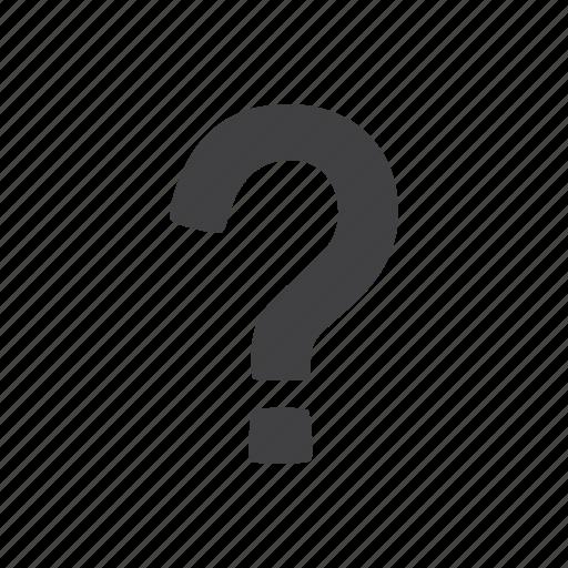 faq, help, mark, question icon