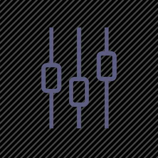 configuration, disturb, equalizer, installation, navigate, settings icon
