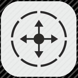 area, data, figure, max, maximum, square icon