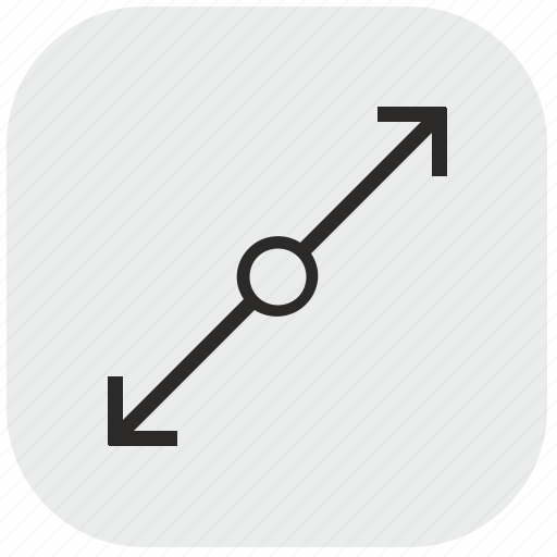 Chart, data, diagonal, max, maximum, size icon - Download on Iconfinder